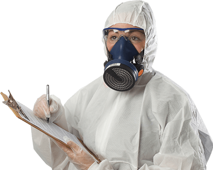 Asbestos surveyor